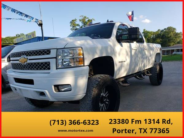 Photo 2012 Chevrolet Silverado 2500 HD Crew Cab - Financing Available - $29995