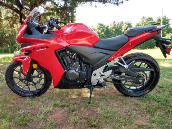 Photo 2013 Honda CBR500R $4250 - $4,250 (Stillwater)