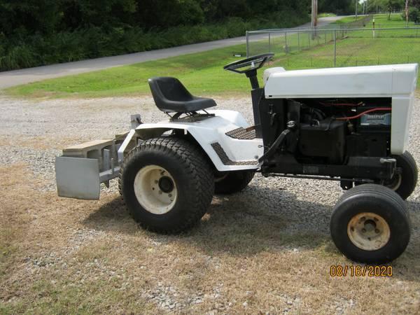 Photo Bolens Garden Tractor with Box Blade - $2,500 (cushing)