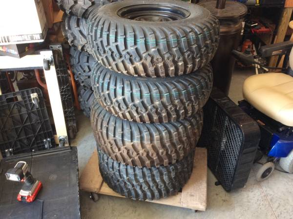 Photo Gator tires and wheels mounted - $360 (Stillwater)