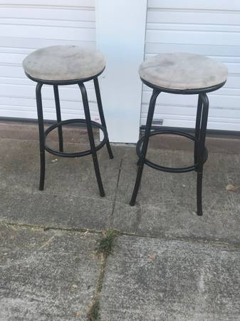 Photo Two Bar stools - $15 (Stillwater)