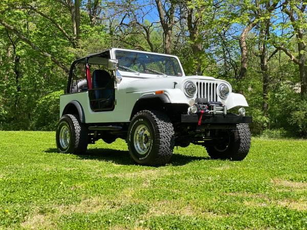 Photo 1983 Jeep CJ7 Restomod - $24,500 (Saint Joseph)