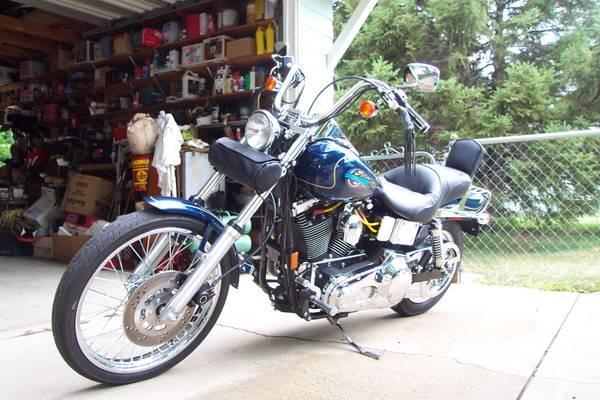 Photo 1998 Harley Wide Glide - $8,200 (Midtown Omaha)