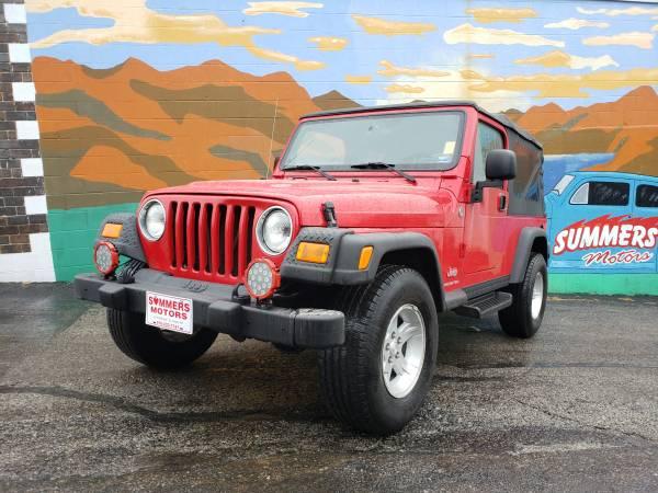 Photo 2005 Jeep Wrangler LJ Unlimited Superb - $14900 (St. Joseph)
