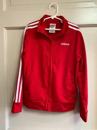 Photo Adidas jacket- girls size 78 - $5 (Overland Park)
