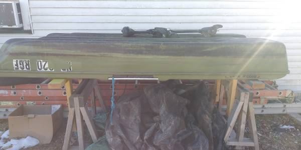 Photo Bass boat with trolling motor - $450 (Waverly)