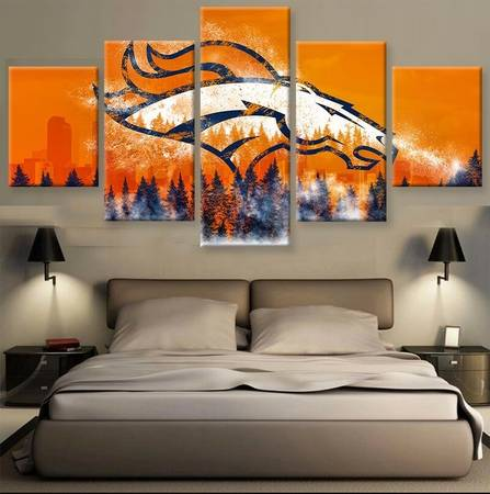 Photo Denver Broncos 5 Pc. Wall Art - $75 (Lincoln)