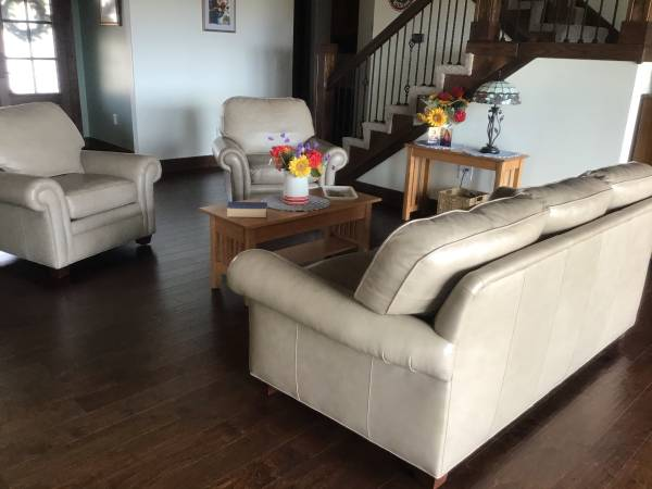 Photo Hancock  Moore Couch and Chairs - $3000 (Wathena)