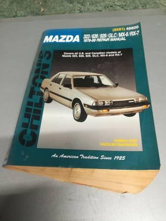 Photo Mazda Chilton manual 78-89 RX7, MX-6,GLC,929,626,323. - $20 (Amazonia)