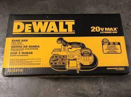 Photo NEW DEWALT DCS371B 20V MAX CORDLESS BAND SAW - TOOL ONLY - $215