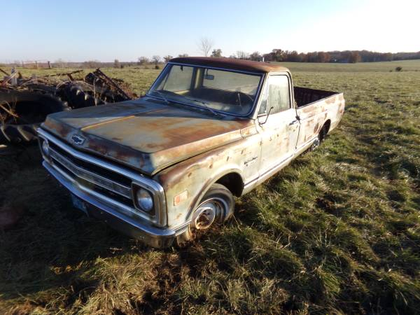 Photo Parts from 1970 Chevy truck (all factory)