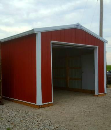 Photo Portable 14x27 garage - $4500