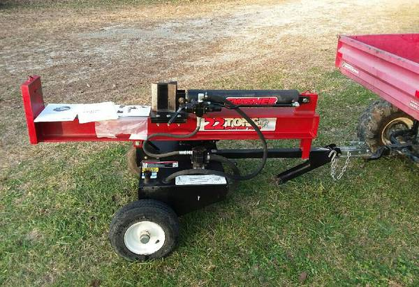Photo Swisher 22 ton Log Splitter 8.75hp - $700 (CAMERON)