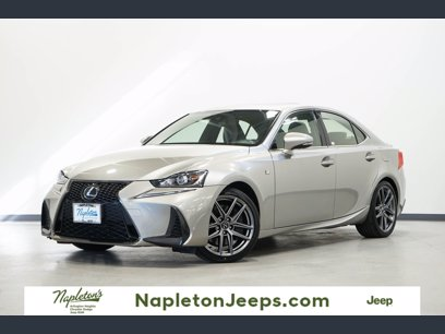 Photo Used 2017 Lexus IS 300 AWD w F Sport Package for sale