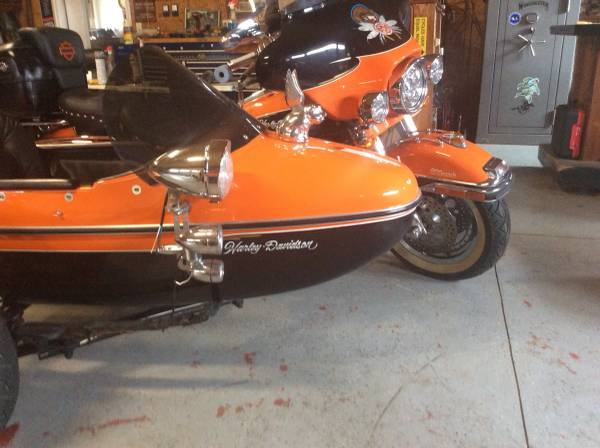 Photo 1990 Harley Davidson FLH with Sidecar - $17,650 (Mount Olive Illinois)