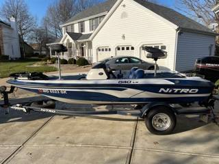 Photo 2001 Nitro 640LX Bass Boat - $8,300 (St. Charles)