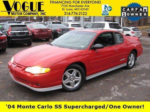 Photo 2004 Chevrolet Monte Carlo SS Supercharged - $7988 (St. Louis)