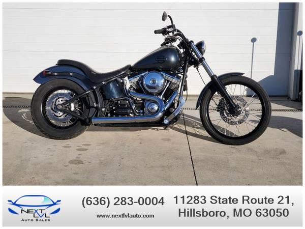 Photo 2012 Harley-Davidson FXS Blackline 17663 Miles - $11,499 (Next LVL Auto Sales, Hillsboro, MO)