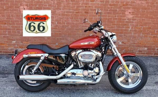 Photo 2014 Harley Davidson Sportster xL 1200 C - $5,999 (O39Fallon)