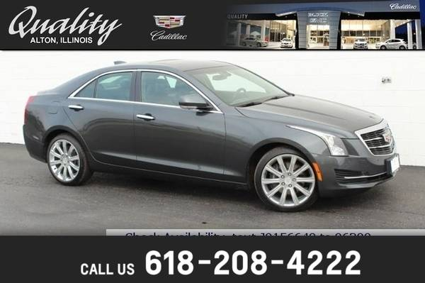 Photo 2018 Cadillac ATS Sedan Luxury AWD - $24858 (_Cadillac_ _ATS Sedan_ _Sedan_)