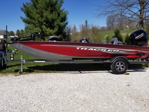 Photo 2020 TRACKER Pro 190 Tournament Edition Bass Boat - 6 Days use - $23,500 (Crete)