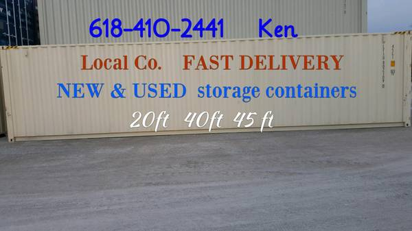 Photo 20- 40 ft Used New Conex Shipping Storage Containers SURE YOU CAN PICK (Caseyville, Il --- St Louis Mo)