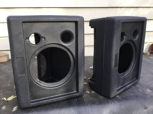 Photo 2 empty speaker body cast, 16 inch tall, 13 inch wide, 10 inch deep - $40 (Ladue)