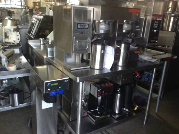 Photo Commercial coffee makers and grinders - $75 (Wentzville)