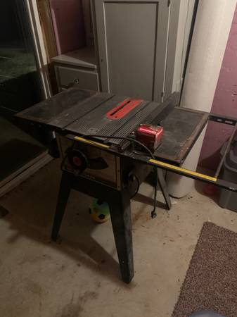 Photo Craftsman Sears 9 Table Saw - $60 (Moscow Mills)