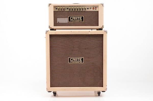 Photo Crate VC-50H Vintage Club 50 Tube Guitar Head w VC-410E 4x10 Cabinet - $400 (METRO EAST)