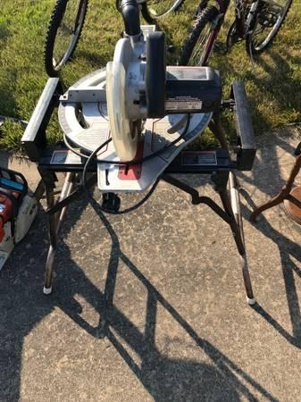 Photo Delta Sidekick 10 Compound Miter Saw - $150 (Warrenton)
