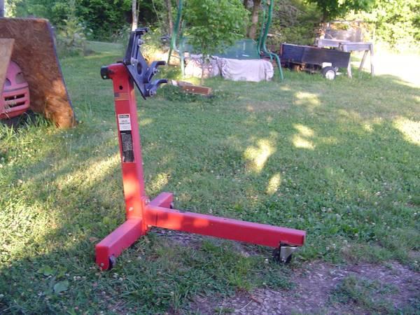 Photo Ex-Cell Engine Motor Stand - $75 (Sullivan Mo)