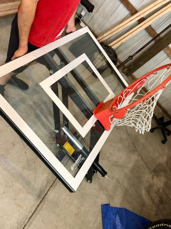 Photo Goalsetter basketball background gs48 wall mounted - $800