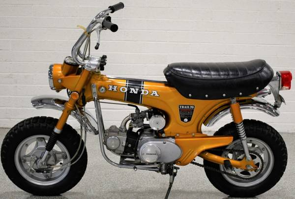 Photo Honda CT 70 and or Z50-WANTED (Saint Louis)