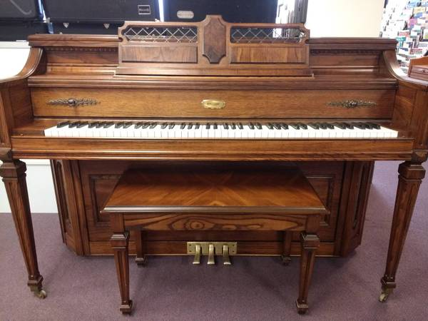 Photo Lowrey Console Piano - Payments Available - $1,995 (SWANSEAMILLER MUSIC)