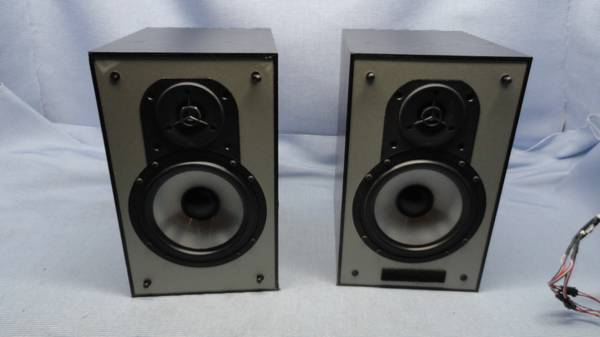 Photo Mint Clean Paradigm Mini Monitor Black Oak Speakers - $175 (U City)