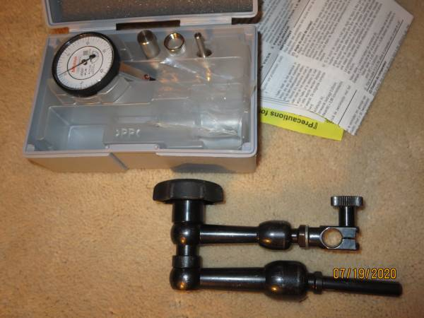 Photo Mitutoyo Machinist Tools Dial Indicator - $125 (north county)