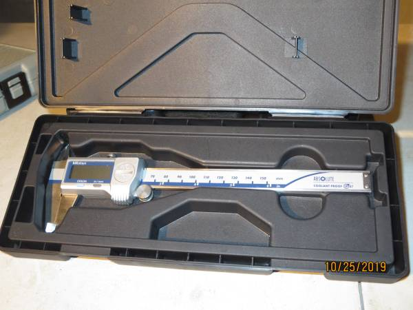 Photo Mitutoyo Machinist Tools Digital Calipers - $125 (north county)