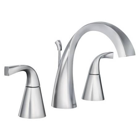 Photo New MOEN quotOxbyquot Chrome Widespread Bathroom Vanity Faucet - $90 (OakvilleS.County)