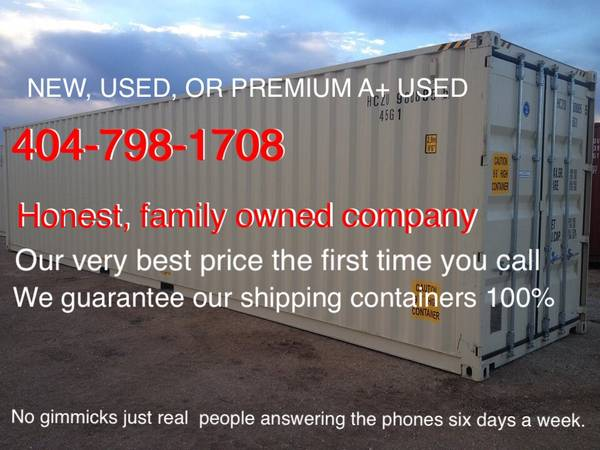 Photo STORAGE CONTAINERS shipping containers Conex pods (Hall st.)