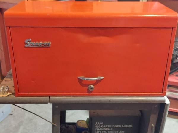 Photo Snap On 9 drawer tool chest - $225 (Freeburg)