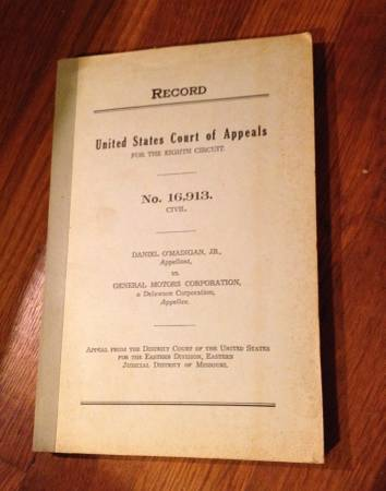 Photo United States Court of Appeals General Motors - $5000