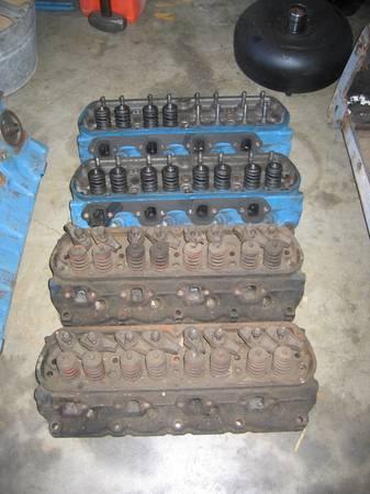 Photo 1969 C90E small block ford engine heads 260 289 302 351W - $300 (North Stockton)