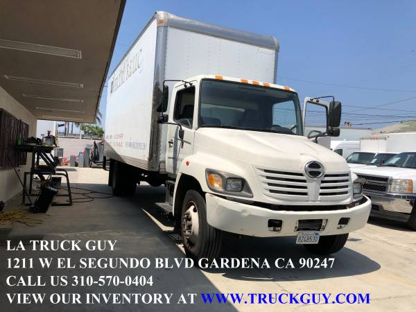Photo 2004 HINO 268 2439 MOVING GRIP TRUCK DIESEL 90K MILES WITH LIFTGATE - $15000 (GARDENA LOS ANGELES DELIVERY AVAILABLE)