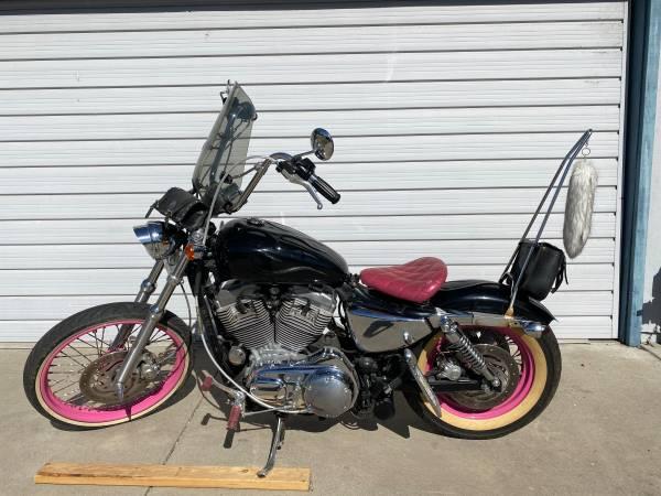 Photo 2004 Ladies Harley 883 Sportster - $5,000 (Stockton)