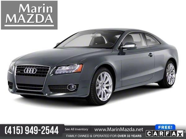 Photo 2010 Audi A5 A 5 A-5 2.0L 2.0 L 2.0-L Premium Plus FOR ONLY $210mo - $14,488 (Marin Mazda)