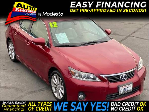 Photo 2012 Lexus CT CT 200h Hatchback 4D (- EZ Financing - Get Pre-Approved in Minutes)