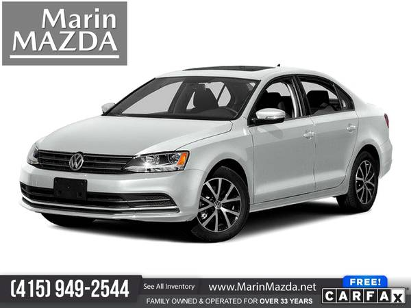 Photo 2015 Volkswagen Jetta Sedan 1.8T 1.8 T 1.8-T SE wConnectivity FOR ONL - $11,988 (Marin Mazda)