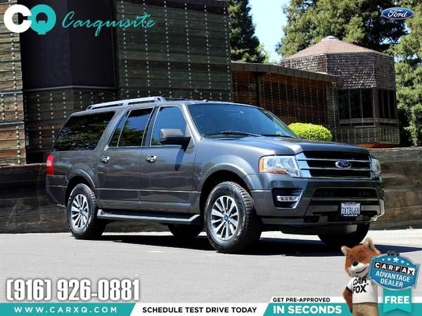 Photo 2016 Ford Expedition XLT 3rd Row Seating Nice Road Trip Large SUV - $19988 (Ford Expedition EL 2016 Car SUV Truck CUDL)