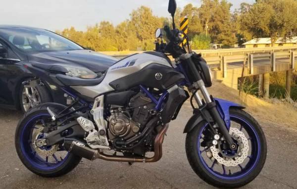 Photo 2016 Yamaha FZ-07 LOW MILES CHEAP PRICE - $5,000 (Stockton)